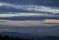 Pod Rycerzową Wielką - Księżyc nad Babią Górą