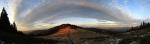 Widok z Rycerzowej Wielkiej - wieczór