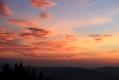 Pod Rycerzową Wielką - Wschód Słońca